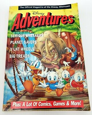 $12.97 • Buy Disney Adventures Magazine Special Edition Fall 1990 Issue Rare Duck Tales Cover
