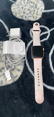 $ CDN192.50 • Buy Apple Watch Series 3 - Rose Gold With Pink Sand Sport Band (GPS + Cellular) -...