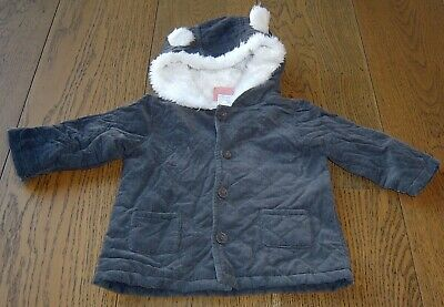 AU17 • Buy Sprout Baby Boys  Padded Hooded Jacket  Sz 0