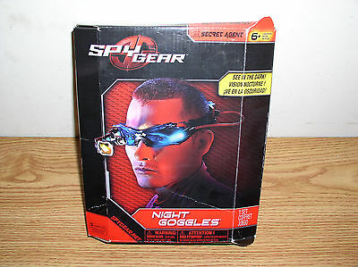 Spy Gear  See In The Dark  Secret Agent Night Goggles By Spin Master • 10.50£