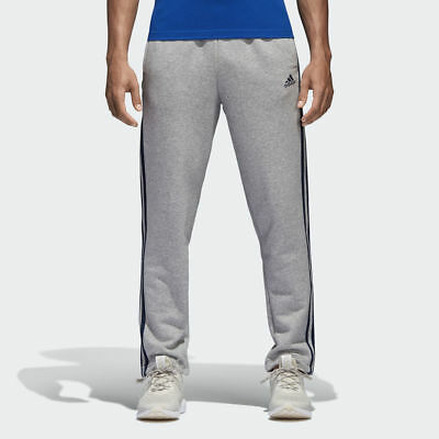 $ CDN109.97 • Buy ADIDAS B47211 Essentials 3-STRIPES Joggers PANTS Medium Grey Heather / Co Navy S