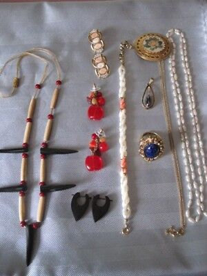 $ CDN40 • Buy JEWELRY LOT Vintage To Modern Variety Of Items & Materials Beautiful Lot #1