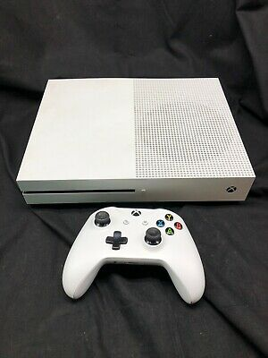 $170 • Buy Microsoft 1681 XBox One S Video Game Console 500GB - White No Power Cord 8561