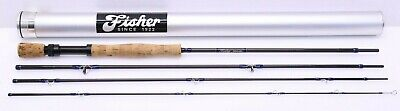 $263.99 • Buy Fisher Travel Saltwater Fly Rod 4 Pcs 9'-0  8/9wt Great Condition W. Alum. Case