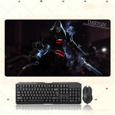 AU28.42 • Buy GAME Overwatch OW Reaper Extra Large Mouse Pad Free Shipping(31.5'' * 15.7'')
