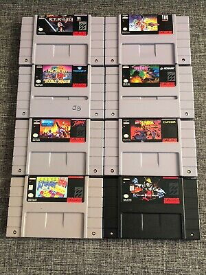 $ CDN165 • Buy 8 SNES (Super Nintendo) Games Lot: Star Wars, Gradius, Double Dragon, Instinct +