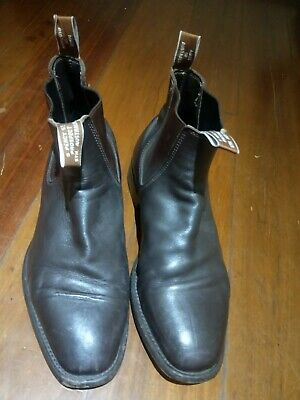AU80 • Buy RM Williams Mens Comfort Craftsman Chestnut Leather Boots Size 10 G