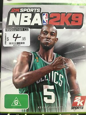 AU9.95 • Buy Nba 2k9 - X Box 360