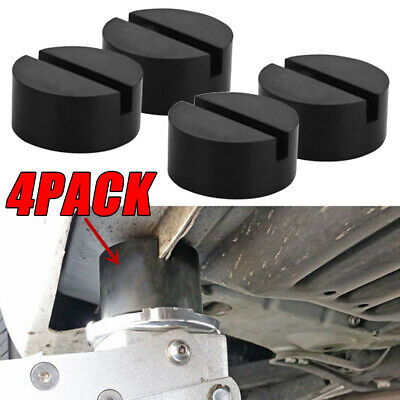 $ CDN0.01 • Buy 4PCS Slotted Frame Rail Floor Rubber Disk Pad Fit Pinch Weld Side JACKPAD Parts