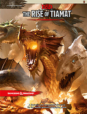 AU35.95 • Buy Dungeons & Dragons The Rise Of Tiamat Adventure NEW