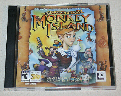 £5.67 • Buy Escape From Monkey Island (Windows 95/98/2000, CD) - LucasArts