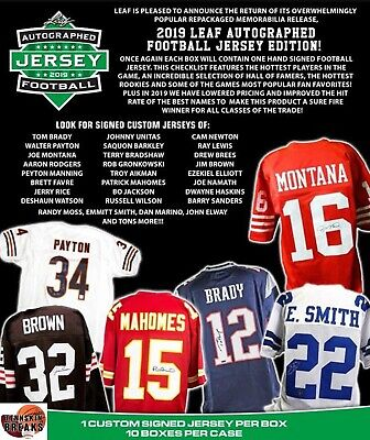 $0.99 • Buy ARIZONA CARDINALS 2019 Leaf AUTOGRAPHED Football Jersey 1BOX Break