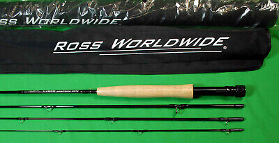 $69 • Buy Ross  Essence  7 1/2  Foot  4  Weight  Graphite Travel  Fly  Rod  NEW  4  Piece