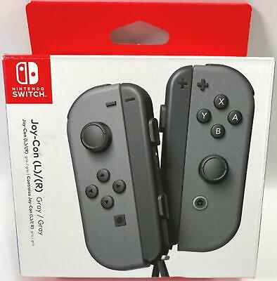 $26 • Buy Nintendo Switch Joy-Con (L)/(R) Gray Controllers See Description