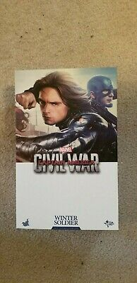 $275 • Buy Hot Toys Captain America Civil War Winter Soldier MMS351..New With Shipper