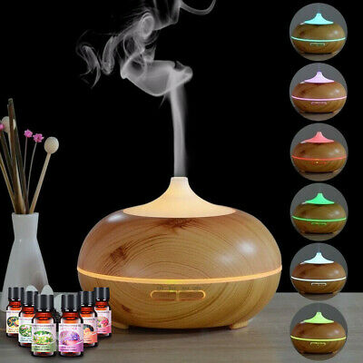 AU22.99 • Buy Aroma Diffuser Ultrasonic Humidifier Aromatherapy LED Purifier W/Essential Oil