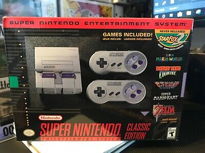 $ CDN211.54 • Buy Official SNES Classic Mini Edition (Super Nintendo NES Classic System) BRAND NEW