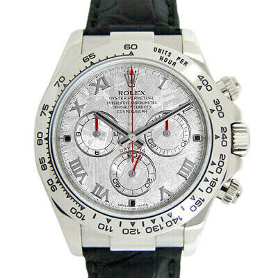$ CDN44209.56 • Buy Rolex Daytona 116519 Men's White Gold 40mm Automatic 1 Year Warranty
