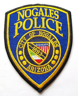 Obsolete Original Police Patch Badge Police City Of Nogales Arizona America • 5.99£