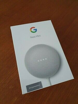 AU49 • Buy Google Nest Mini (2nd Generation) Smart Speaker - Chalk (Not Opened)