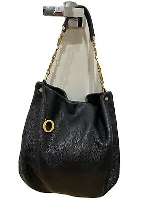 AU0.99 • Buy OROTON Black Leather Handbag - Excellent Condition - Awesome Style!