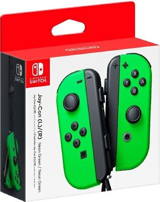 $71.99 • Buy Joy-Con (L/R) Wireless Controllers For Nintendo Switch - Neon Green