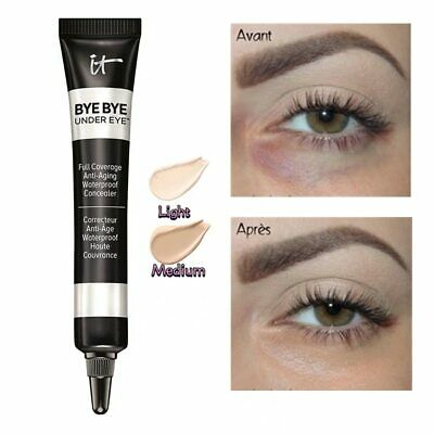 $7.98 • Buy It Cosmetics BYE BYE UNDER EYE Light & Medium Shades CONCEALER FULL SIZE