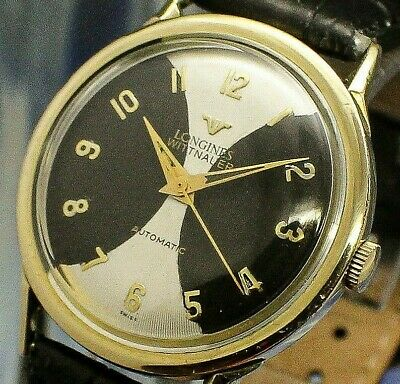 $ CDN120.20 • Buy Vintage Mens 1950s Longines Wittnauer EPIC AMAZING 2TONE DIAL Automatic Watch NR