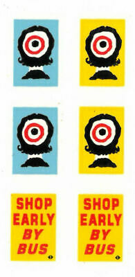 Modelmaster 1:76th Professional Silk Screen Watersllde Decals BUS ADVERTS  6   • 4.50£