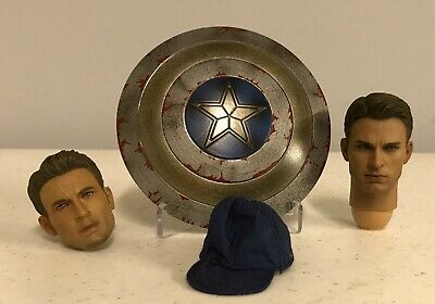 $99 • Buy Hot Toys 1/6 Captain America Winter Soldier Lot