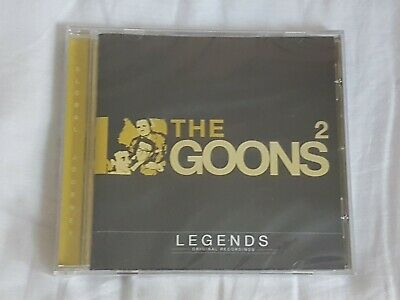 The Goons 2 Legends Original Recordings Comedy  CD NEW Spike Milligan Etc • 9.99£