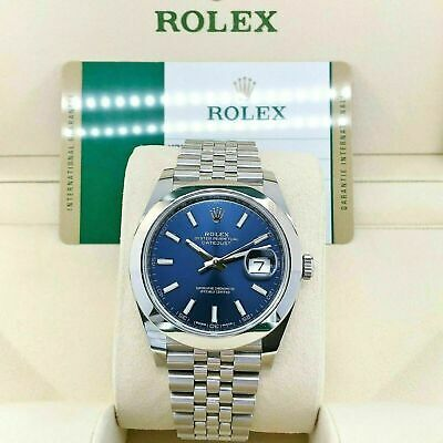 $ CDN11593.97 • Buy Rolex 41MM Datejust 2 Watch Stainless Steel Oyster Jubilee Band Ref # 126300