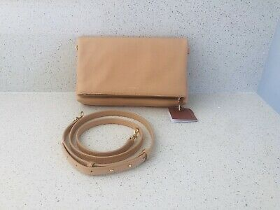 AU165 • Buy Oroton Flap Over Crossbody Caramel