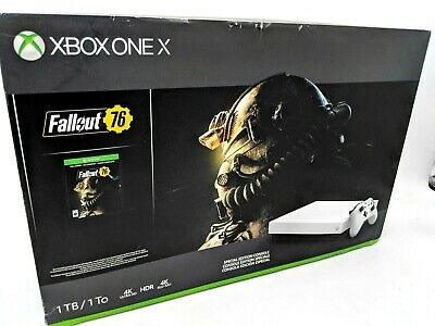 $285.01 • Buy New Xbox One X Fallout 76 Edition 1TB -White -NJ1265