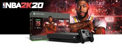 $344.95 • Buy Xbox One X 1TB NBA 2K20 Bundle Brand New Factory Sealed Fast Ship