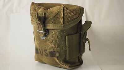 $43.92 • Buy Dated 1968 Vietnam US M1956 M56 Small Universal Canvas 2nd Pattern Long Pouch