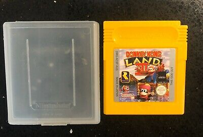 AU26.95 • Buy Nintendo Gameboy Donkey Kong Land 2 For Game Boy 100% Original Like New