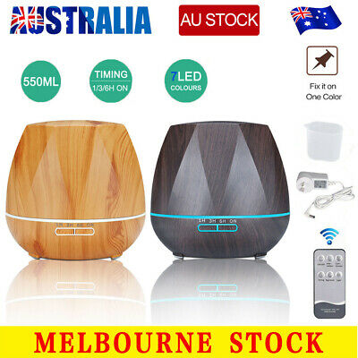 AU28.59 • Buy 550ml Essential Oil Humidifier Aroma Diffuser Ultrasonic Air Mist Aromatherapy