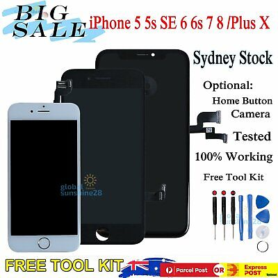 AU27.99 • Buy For IPhone X 8+ 7 Plus 6s 6 5s LCD Touch Screen Replacement Digitizer Assembly
