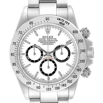 $ CDN43107.32 • Buy Rolex Cosmograph Daytona White Dial Zenith Movement Watch 16520