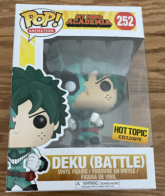 $34.99 • Buy Funko POP My Hero Academia Battle Deku Hot Topic Exclusive #252