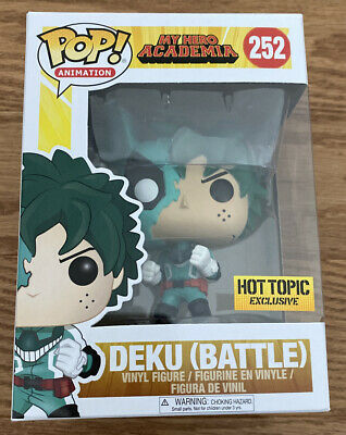 $34.99 • Buy Funko POP! My Hero Academia Battle Deku Hot Topic Exclusive #252