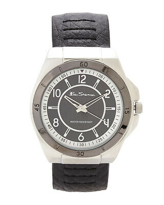Ben Sherman Quartz With Black Dial Analogue Display & Black PU Strap Watch R918 • 18£