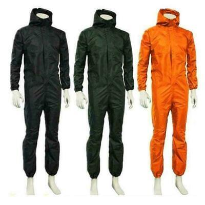 $27.99 • Buy Unisex Waterproof One-piece Work Hooded Coveralls Overall Jumpsuit Boilersuit MN