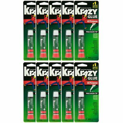AU32.55 • Buy Lot Of 10 Elmers Krazy Glue Original Crazy Super Glue All Purpose Instant Repair