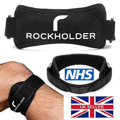 Knee Strap Adjustable Pain Support Patella Belt Tendon Runners Band Brace NHS UK • 2.99£