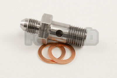 $26.95 • Buy 4AN VANOS Oil Feed Fitting For Turbo And Supercharger BMW M3 SEALS Included