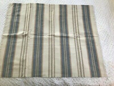 $8 • Buy Pottery Barn Standard Pillow Sham-Nautical Look/style Ecru,blue,red Stripes
