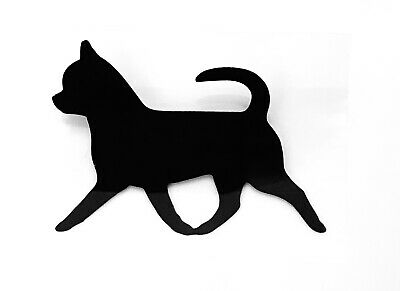 £1.95 • Buy Chihuahua Smooth Coat Dog Stickers Iron On Decals For Clothes T-Shirt 50mm X 2
