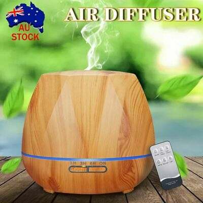 AU24.60 • Buy Aroma Aromatherapy Diffuser LED Essential Oil Ultrasonic Air Humidifier Purifier